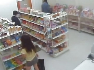 Fucking Shoplifting Girls With A Handy Camera